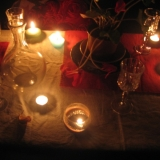 Painting by Candlelight