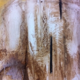 Grounded - Drawing on mud primed surfaces