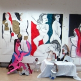 Large-Scale Expressive Drawing